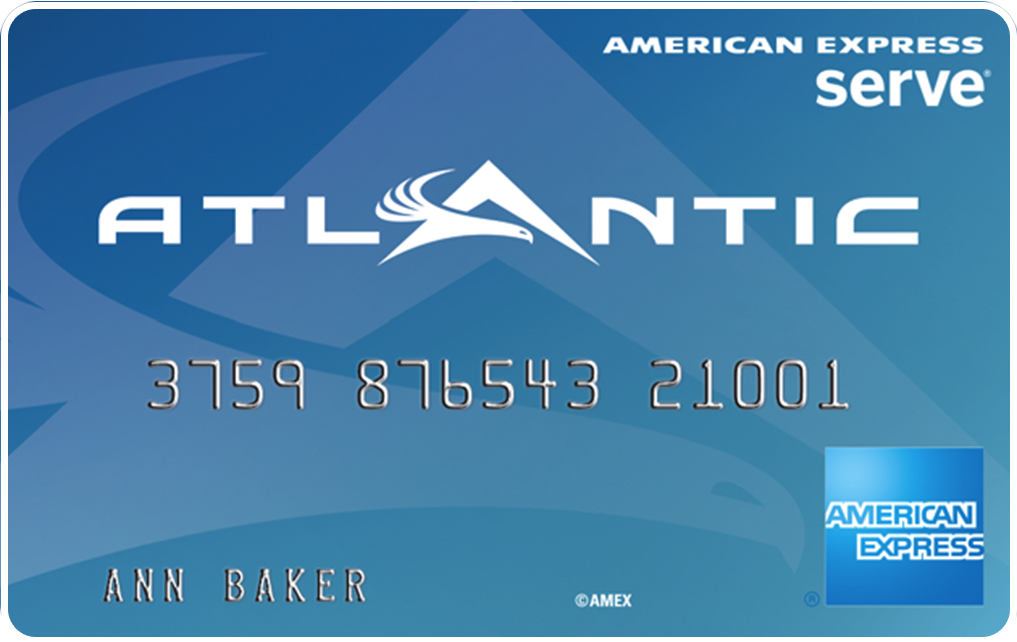 Example of American Express Serve® Card